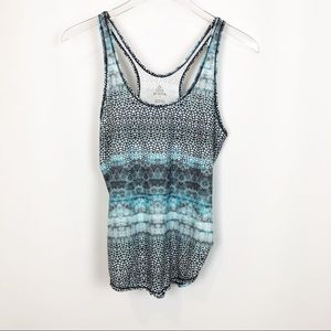 Prana Active tank graphic print racer back